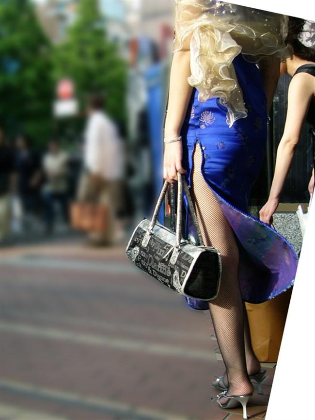 サイドの深いスリットが妙にえちえちなチャイナドレスの魅力www0003shikogin