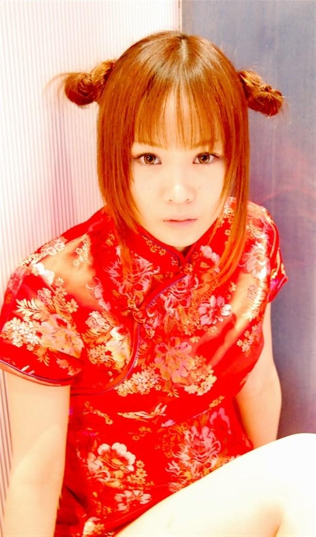 サイドの深いスリットが妙にえちえちなチャイナドレスの魅力www0012shikogin
