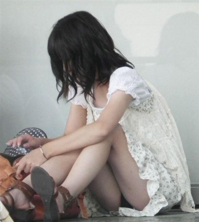 季節柄、恋しくなるミニスカで生足を晒す綺麗なお姉さんwww0012shikogin