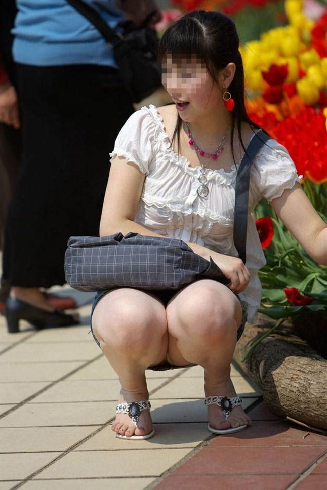 季節柄、恋しくなるミニスカで生足を晒す綺麗なお姉さんwww0013shikogin