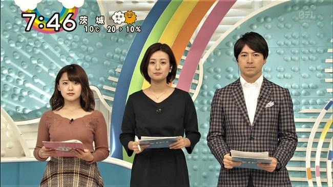 尾崎里紗~日テレの清純派アナが薄手の衣装で黒のインナーを透けさせてたのが極エロ!0011shikogin
