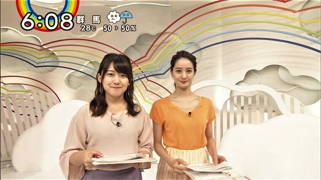 尾崎里紗~日テレの清純派アナが薄手の衣装で黒のインナーを透けさせてたのが極エロ!0002shikogin