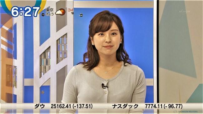 角谷暁子~ニュースモーニングサテライトでいつになくオッパイの膨らみが凄かった!0008shikogin