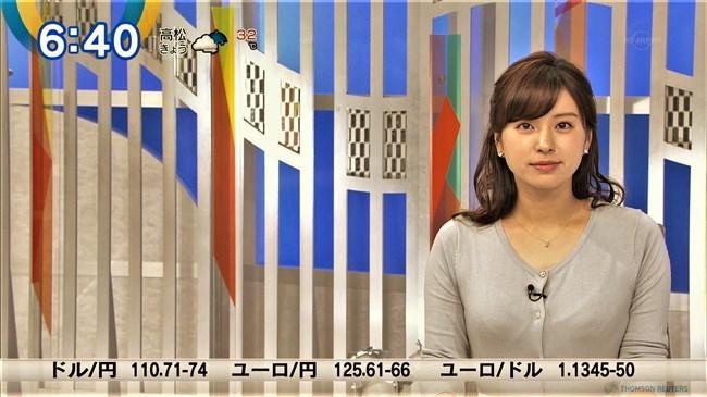 角谷暁子~ニュースモーニングサテライトでいつになくオッパイの膨らみが凄かった!0010shikogin
