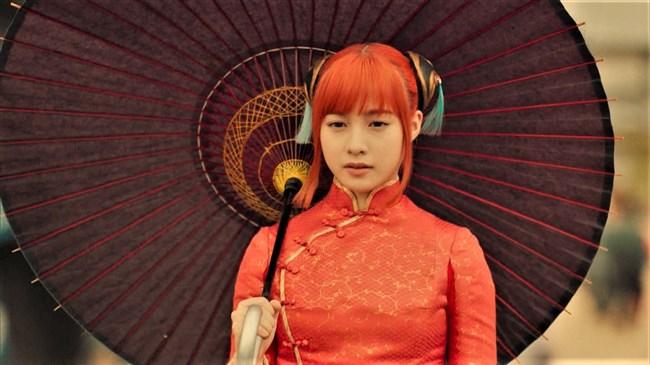 橋本環奈~銀魂チャイナドレス姿のムッチリボディーで巨乳な姿がエロくて興奮!0009shikogin