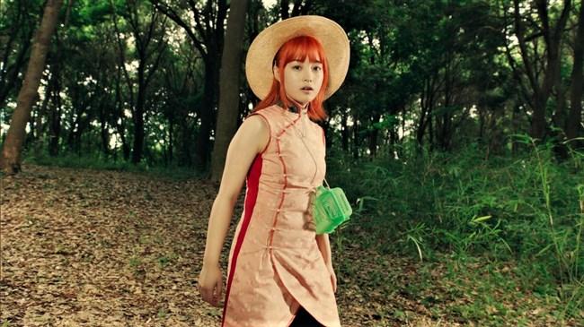 橋本環奈~銀魂チャイナドレス姿のムッチリボディーで巨乳な姿がエロくて興奮!0002shikogin