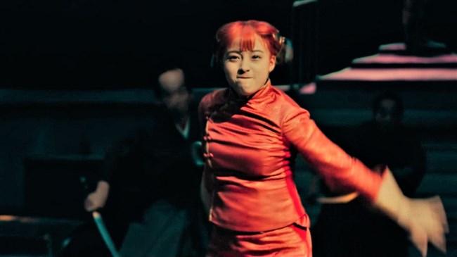 橋本環奈~銀魂チャイナドレス姿のムッチリボディーで巨乳な姿がエロくて興奮!0003shikogin