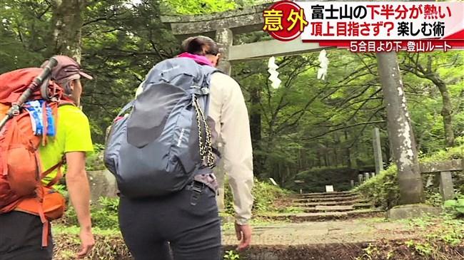 森葉子~スーパーJチャンネルのロケでプリプリヒップからパン線が見えて極エロ!0007shikogin