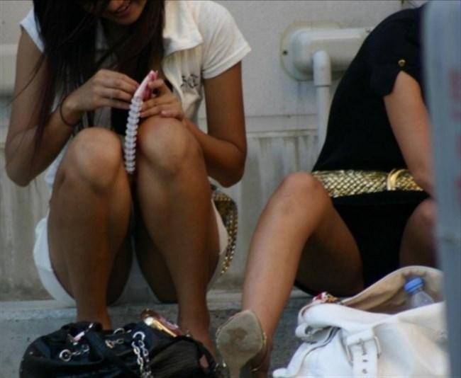 夏が恋しくなるミニスカ女子のパンチラを拝めた瞬間wwwww0011shikogin