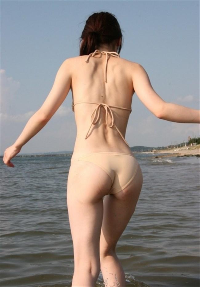 ビーチではしゃぐ素人女子の水着から具が見えそうでえちえち過ぎるwwww0014shikogin