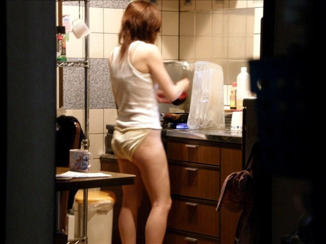 こんな格好でキッチンに立たれたら即発情してまうわwwww0006shikogin