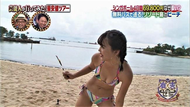 藤田ニコル~シンガポールでエッチな胸の膨らみと水着姿をたっぷり披露してたぞ!0007shikogin