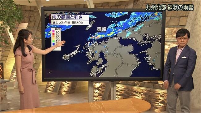 森川夕貴~報道ステーションでのピタピタ服のエロい胸元が素晴らしい!0007shikogin