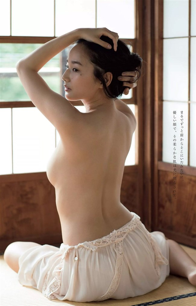 高嶋香帆~日テレジェニックの美少女が週プレグラビアでついにセミヌードを公開!0008shikogin
