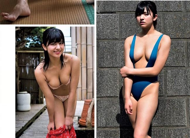 徳江かな~週プレの水着グラビアがオッパイ出しまくりで凄い!エロボディー過ぎ!0008shikogin