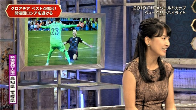 澤田彩香~FIFAワールドカップ番組でのオッパイを強調した姿が凄くエロかった!0009shikogin