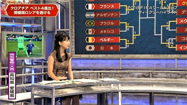 澤田彩香~FIFAワールドカップ番組でのオッパイを強調した姿が凄くエロかった!0010shikogin