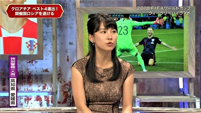 澤田彩香~FIFAワールドカップ番組でのオッパイを強調した姿が凄くエロかった!0011shikogin