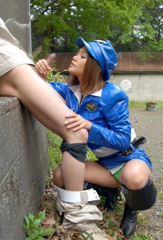昼間からお外でフェラチオしてしまう性欲旺盛な女の子wwwwww0019shikogin
