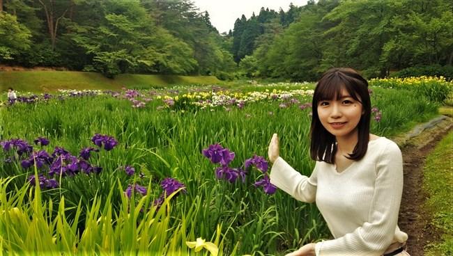 坂元楓~NHK新潟放送局アナが可愛過ぎると評判に!胸の膨らみもなかなかだぞ!0003shikogin