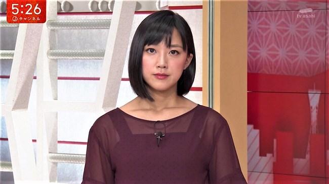 竹内由恵~やべっちFCでのプックリ胸の膨らみとスーパーJチャンネルの透け衣装!0008shikogin