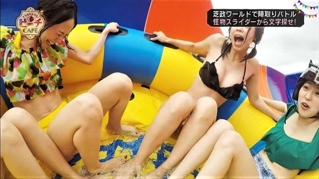 武井玲奈~芝政ワールドのプールロケで水着姿にて豊かなオッパイを猛アピール!0003shikogin