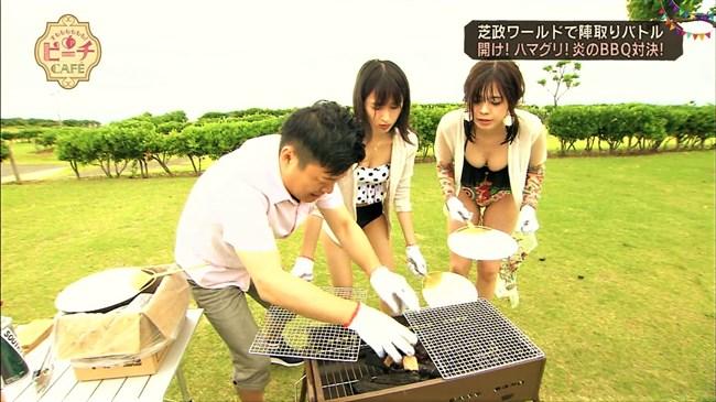 武井玲奈~芝政ワールドのプールロケで水着姿にて豊かなオッパイを猛アピール!0007shikogin