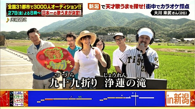 三谷紬~音楽チャンプの新潟ロケで白Tシャツと短パン姿がパツパツでエロ過ぎてヌイた!0011shikogin