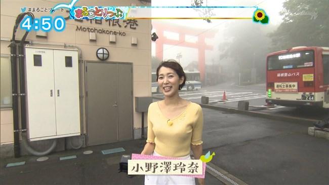 小野澤玲奈~静岡第一テレビの美人アナは意外と巨乳!お風呂バスタオル巻き姿も公開!0002shikogin
