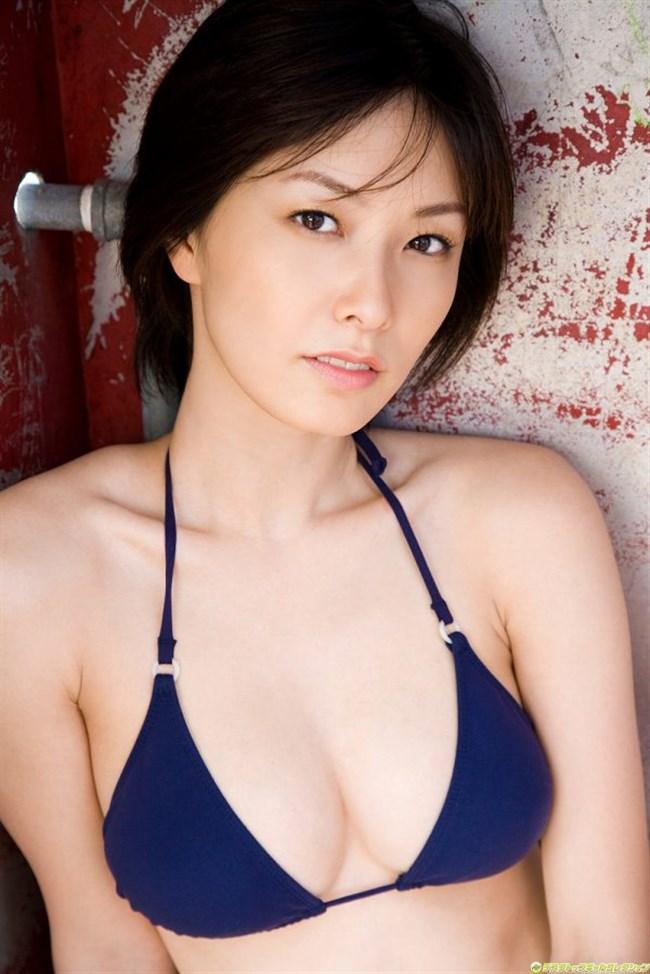 長澤奈央~長身ショートヘアの三十路美形お姉様の水着グラビアがエロ美し過ぎて大変!0006shikogin
