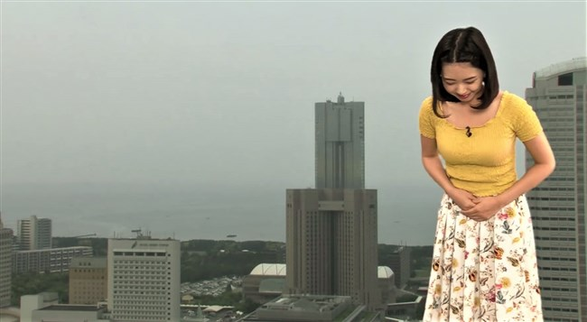 角田奈緒子~ウェザーニューズの可愛い巨乳キャスター発見!人気爆発しそうだぞ~!0012shikogin