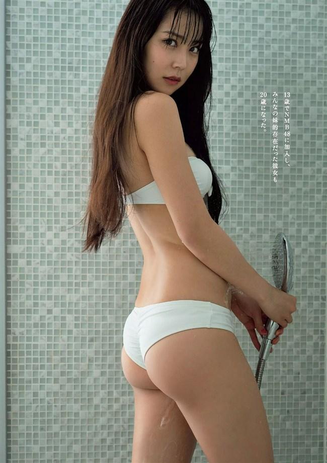 白間美瑠[NMB48]~みるるんの週プレ水着グラビアが凄過ぎ!これは着エロを軽く超えてるぞ!0005shikogin
