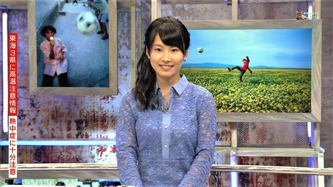 澤田彩香~WCウイークリーハイライトでの少し透けた服の胸の盛り上がりが凄い!0002shikogin