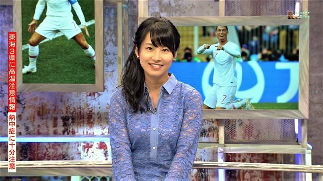 澤田彩香~WCウイークリーハイライトでの少し透けた服の胸の盛り上がりが凄い!0003shikogin