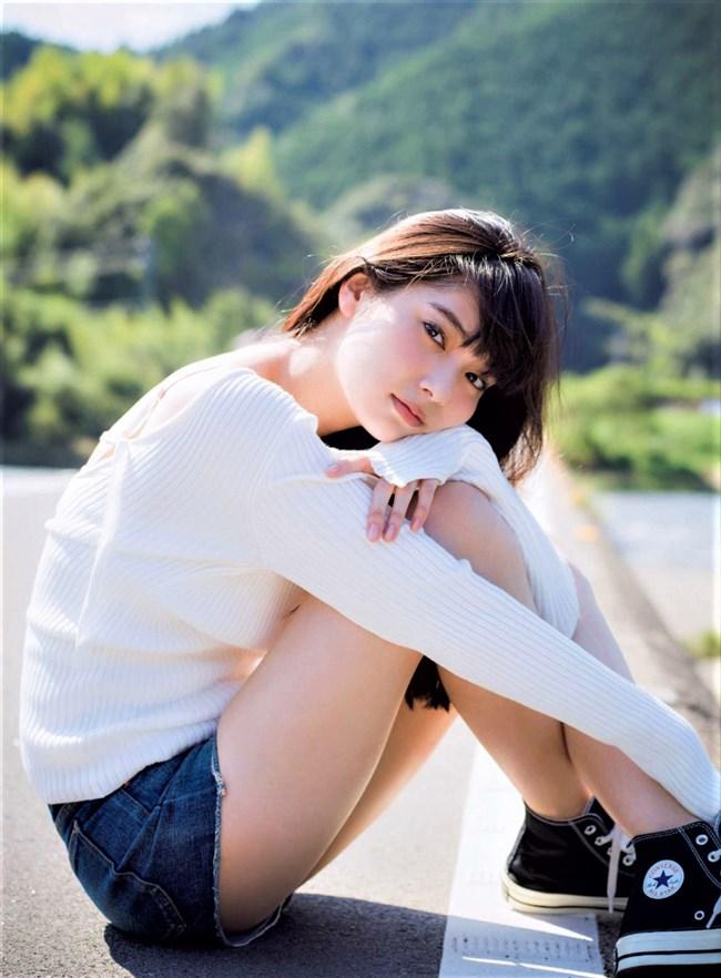 新川優愛~FLASHのグラビアは白ビキニ姿を含む究極の美しさ!こんな美人いないぞ!0006shikogin