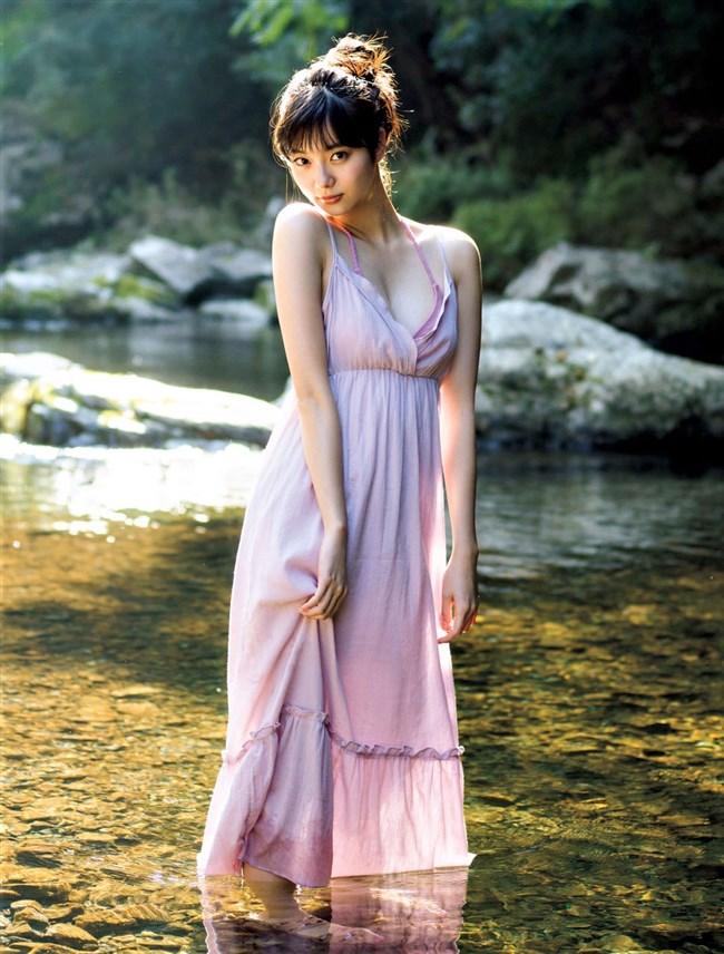 新川優愛~FLASHのグラビアは白ビキニ姿を含む究極の美しさ!こんな美人いないぞ!0011shikogin
