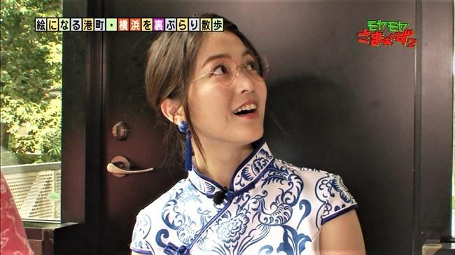 福田典子~モヤモヤさまぁ~ず2で太もも付け根まで見える超エロいチャイナドレス姿を披露!0009shikogin