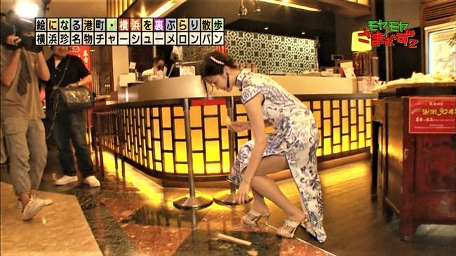 福田典子~モヤモヤさまぁ~ず2で太もも付け根まで見える超エロいチャイナドレス姿を披露!0008shikogin