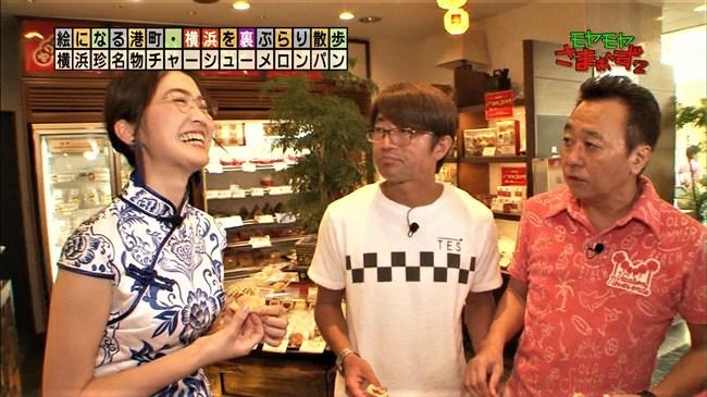 福田典子~モヤモヤさまぁ~ず2で太もも付け根まで見える超エロいチャイナドレス姿を披露!0002shikogin