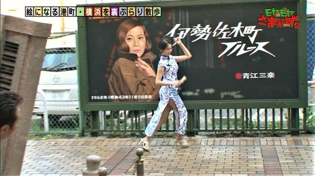 福田典子~モヤモヤさまぁ~ず2で太もも付け根まで見える超エロいチャイナドレス姿を披露!0005shikogin