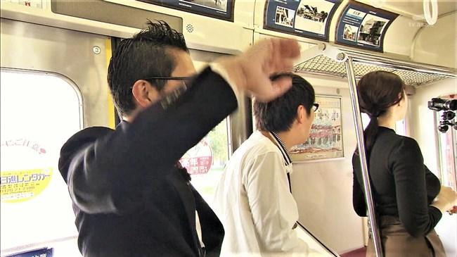 市川紗椰~タモリ倶楽部の鉄道企画でパンパンに張ったオッパイをアピールし超興奮!0006shikogin