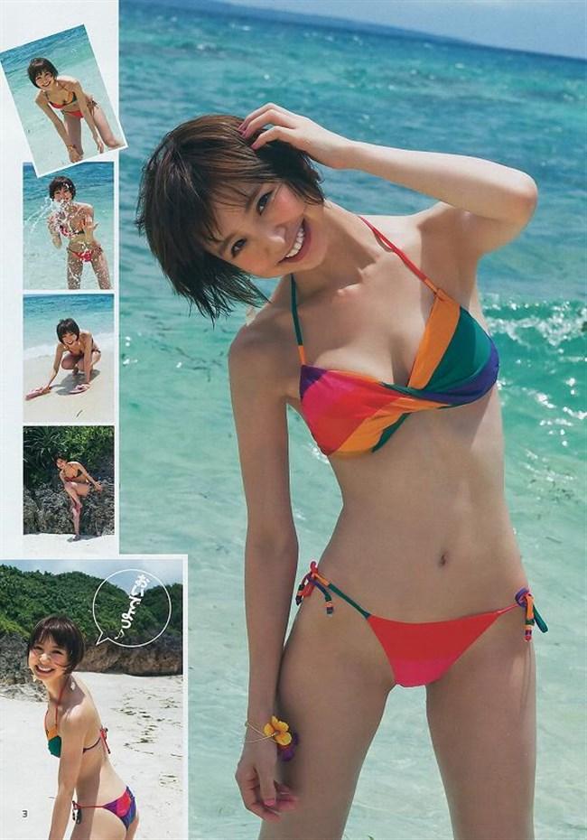 篠田麻里子~麻里子サマはやっぱり下半身!股間もっこりの水着グラビア集めました!0002shikogin