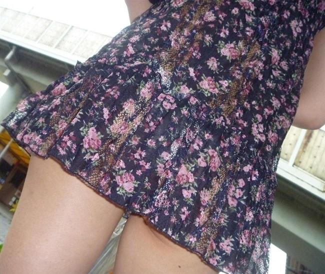 スカート生地が薄くて下着が丸見えなお姉さんwwwwww0021shikogin