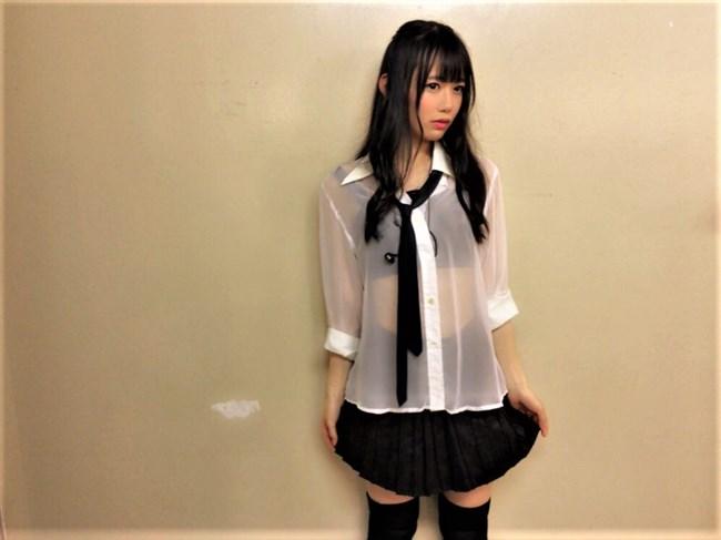 大西桃香[AKB48]~スカート内を覗き込むエロい姿とショーパンでのモロに見えた半ケツが極エロ!0007shikogin