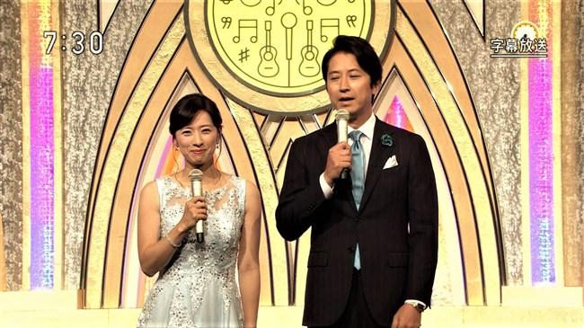 小郷知子~美しきNHK女子アナの希少な胸の谷間とノースリーブわき全開な姿は最高!0007shikogin