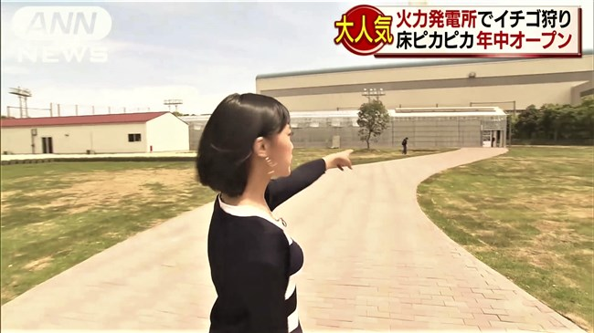 竹内由恵~イチゴ狩りリポートの様子が美し過ぎる!胸チラや疑似フ〇ラなどで妄想!0009shikogin