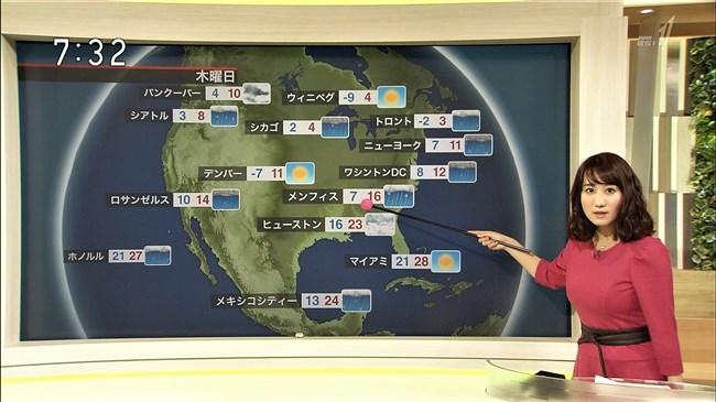 吉井明子~NHKの爆乳気象予報士が凄い!大き過ぎて卑猥な天気予報になっとるばい!0011shikogin