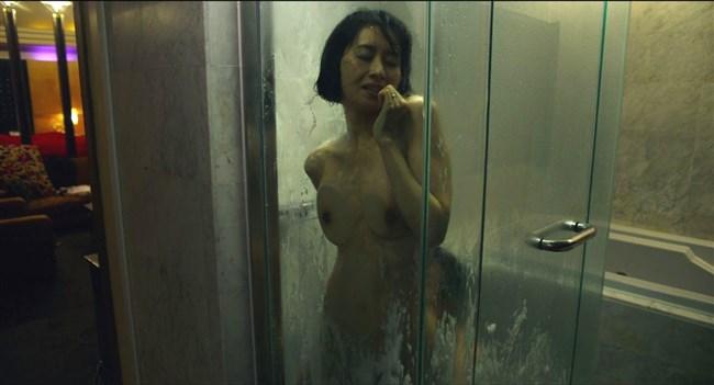 河井青葉~ナマ乳を揉まれ喘いでいる映画の濡れ場が本気モードでAVのようだ!0002shikogin