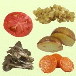 野菜5種類つけあわせ