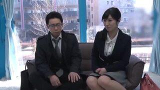 【おっぱい】MM号にて、巨乳のOL素人の、手コキフェラエロ動画!【OL、素人、お姉さん動画】